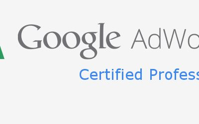adWords certifikat