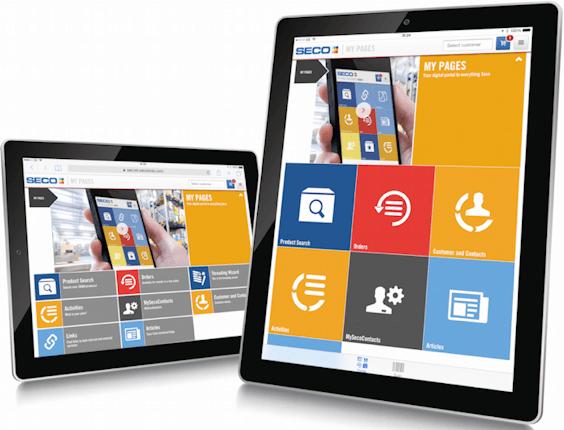 Seco Tools digitalisering B2B